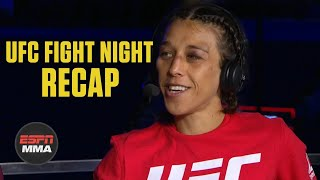 Joanna Jedrzejczyk wants Zhang Weili after beating Michelle Waterson | UFC Post Show | ESPN MMA