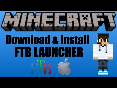 Minecraft: How To Download & Install The FTB Launcher (MAC)