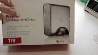 Iomega Desktop Hard Drive 1 To Prestige déballage / unboxing