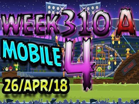 Angry Birds Friends Tournament Level 4 Week 310-A  MOBILE Highscore POWER-UP walkthrough
