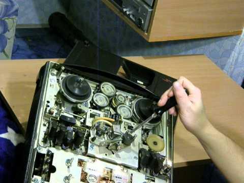 Магнитофон НОТА-203 работа