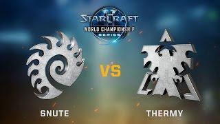 StarCraft 2 - Snute vs. Thermy (ZvT) - Ro16 Quarterfinals - WCS Austin Challenger EU