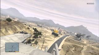 GTA V: How To Steal The Military Fighter Jet (Best Easy Method)