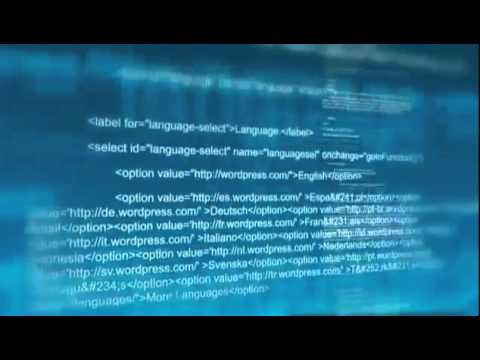 Programming Code video background