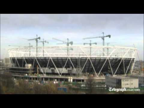 London 2012 Olympics: timelapse of Olympic Stadium