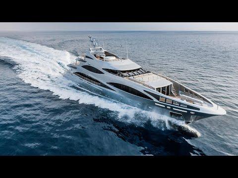 Презентация супер-яхты Benetti FB502 Panthera