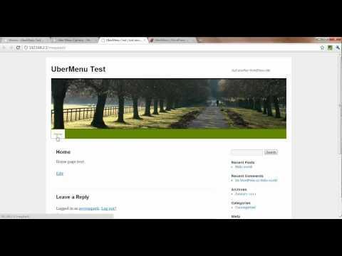 0 How to Create a Mega Menu in WordPress with UberMenu