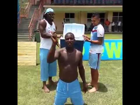 Darren Sammy Ice Bucket Challenge
