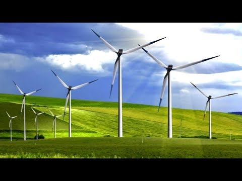 Giant Wind Farms Can Save The Planet