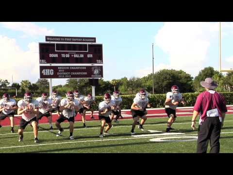 2014 Prep Football Preview: First Baptist Academy - 08/07/2014
