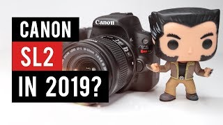Canon SL2 (200D) in 2019 - Watch Before You Buy