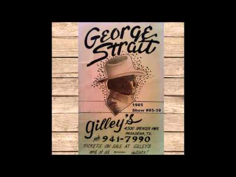 George Strait - Live from Gilley's - Pasadena, TX (1/12/1985)