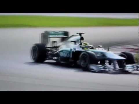 Lewis Hamilton VS Nico Rosberg - Mercedes Team Malaysian GP Malaisie 2013 F1Saison