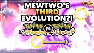 MEWTWO'S THIRD MEGA EVOLUTION/FORM HINTED IN POSTGAME?! - Pokémon Let's Go Pikachu & Let's Go Eevee!