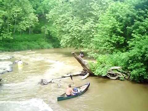 Canoe Run on the -Blue Way- Little River-Floyd County Virginia
