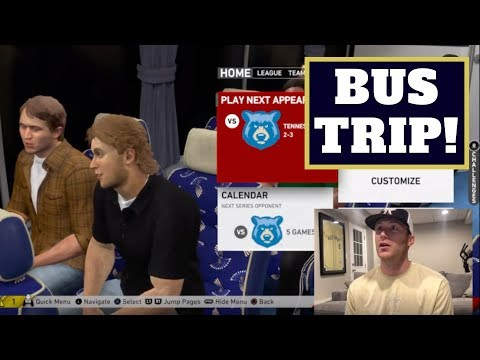 MLB Road To The Show - Bus Trip!