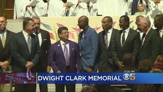 Former 49er Stars Gather To Celebrate Life Of Dwight Clark