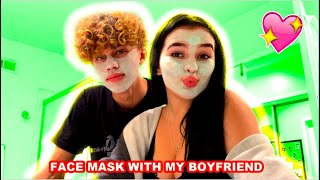 Face Mask With My Boyfriend (Gone Wrong)