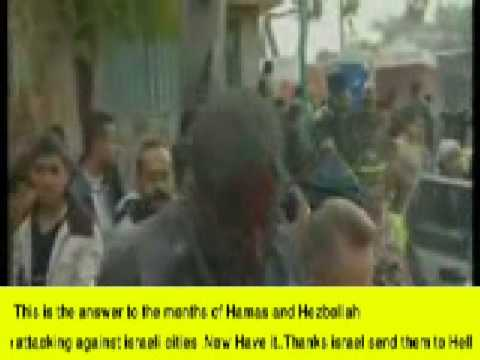 Israel Airstrike on Gaza_Answer to Hamas & Hezbollah Terrosist attack aganist israel