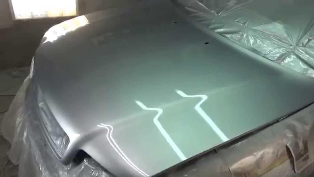 Покраска авто металликом своими руками в гараже 70