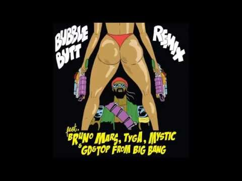 Bubble Butt (feat. Bruno Mars, GD & TOP From Big Bang, Tyga & Mystic)[With Download Link]