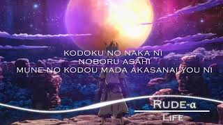 Download lagu ( Lyrics/Romaji )Dr. STONE - Ending Full『LIFE』by Rude-α