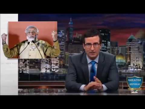 John Oliver :Takes on World Leaders Hilarious Compilation