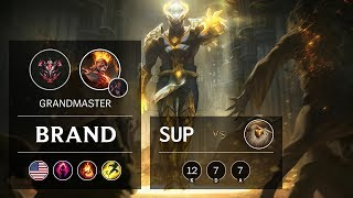 Brand Support vs Bard - NA Grandmaster Patch 9.16
