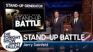 Stand-Up Battle with Jerry Seinfeld