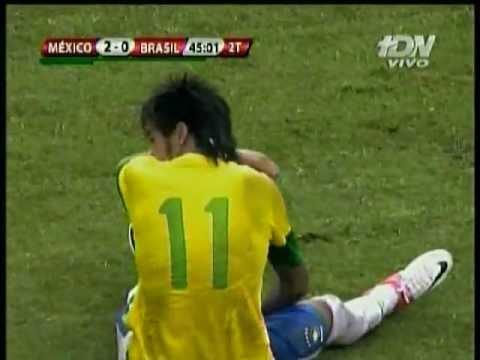 Mexico vs Brasil 2-0  Mexico vence a Brasil en partido amistoso 2012