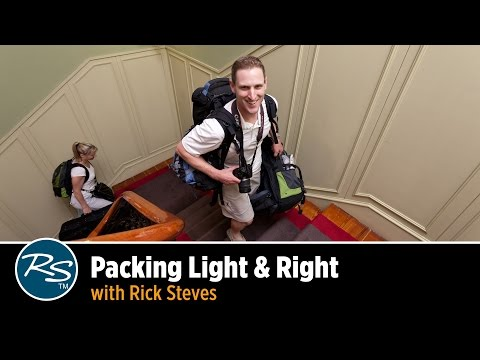 Packing Light & Right with Rick Steves