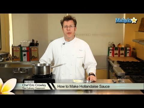 how to make hollandaise sauce with vinegar