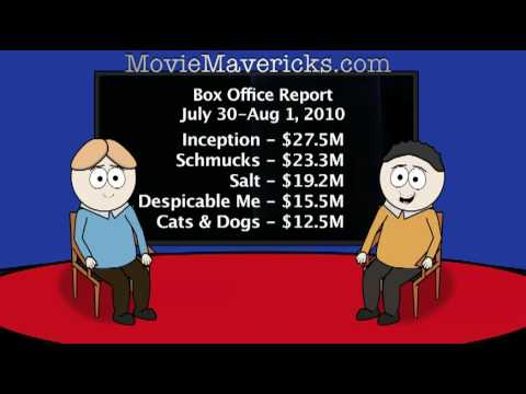Animated Critics Box Office Report July 30-Aug 1, 2010