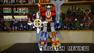 Video Review for the KO Lego Voltron