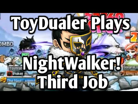 Maplestory: Lets Play NightWalker! - Third Job Training