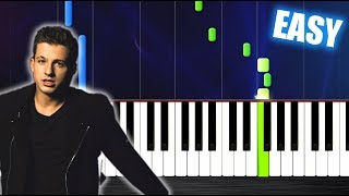 Download Lagu Charlie Puth - Attention - EASY Piano Tutorial by PlutaX Gratis STAFABAND