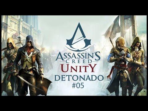 Detonado Assassin's Creed Unity 100% Sync Renascimento #05 PT-BR