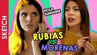 RUBIAS VS MORENAS - Katia Nabil | Hola Sunshine
