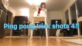 Ping pong trick shots 4 | Sports boys