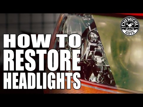 How To Restore Headlights - Chemical Guys Car Care