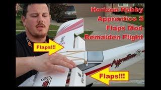 Horizon Hobby - Apprentice S 15e - Flaps Mod - Remaiden Flight