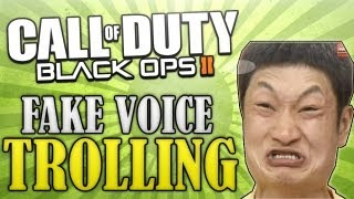 "Fake Voice TROLLING! - Asian ""DUHH HARROO"""