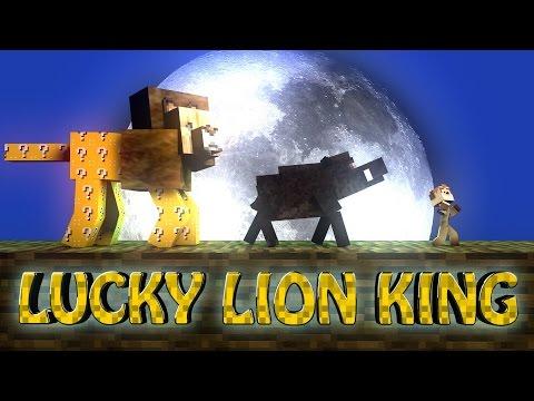 Minecraft | LUCKY BLOCK LION KING BOSS CHALLENGE - Lion King Bosses! (Scar, Lucky Block, Mufasa)