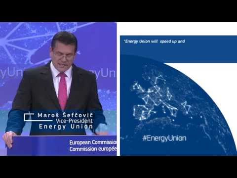 European Energy Union - Maroš Šefčovič on infrastructure projects