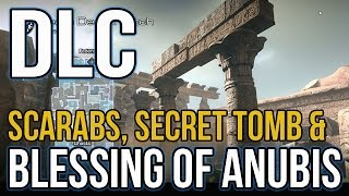 COD Ghosts: Invasion DLC Pharaoh: Blessing of Anubis, Secret Tomb, Easter Egg | Call of Duty Ghosts