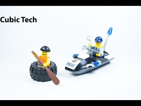 LEGO City 60126 Tire Escape - Lego Speed Build