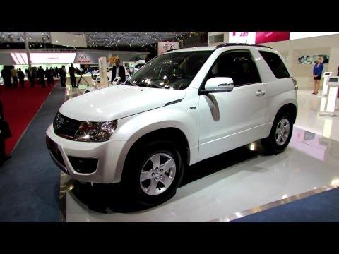 3-х дверная Suzuki Grand Vitara Diesel 2013. Экстерьер и интерьер - 2012 Paris Auto Show
