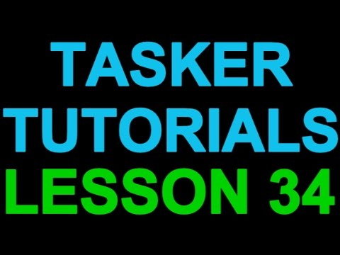 Tasker 101 Tutorials: Lesson 34 - User Request - Count & Vibrate for Missed Calls