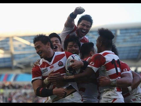 Japan dramatically defeated South Africa in injury time Rugby World Cup 34-32