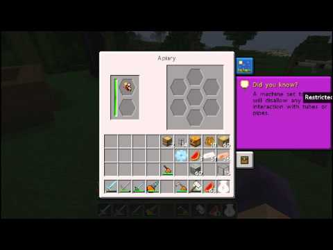 Minecraft 1.2.5 Let's Play - Episode 33 - Crafting an Apiary - Beekeeping with Forestry